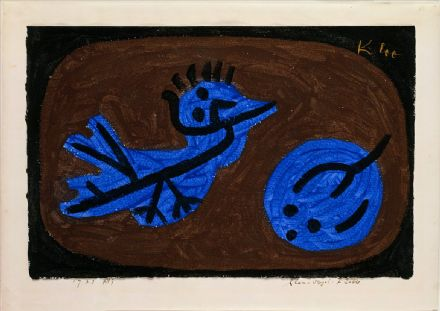 Klee, Paul: Blue Bird Pumpkin. Fine Art Print/Poster (5013)